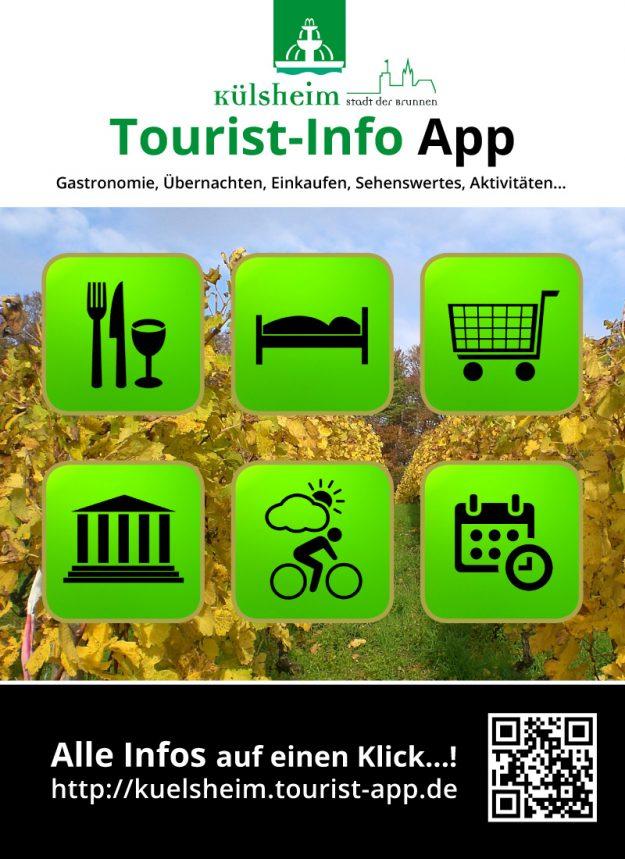 Plakat Tourist-Info App
